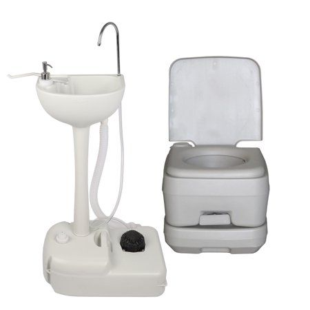 Sports Outdoors Wash Basin Camping Toilet Storage Tanks