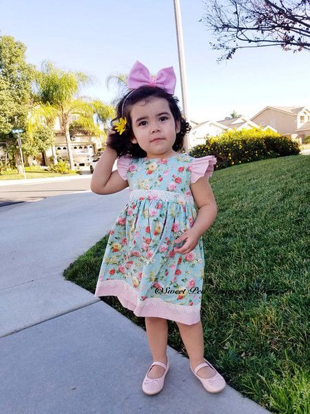 Pick a sweet dress - Cute Easter Clothes for Kids on Etsy - Photos