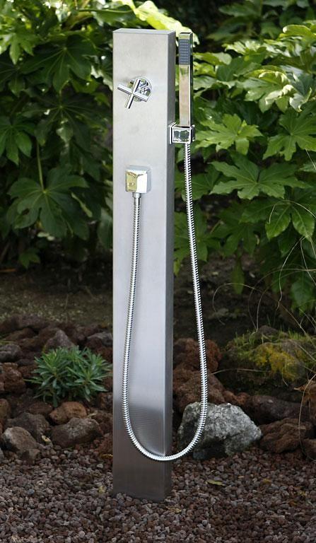 Einfach Kompakt Madeira Von Ideal Bild 17 In 2020 Gartendusche Dusche Outdoor Dusche