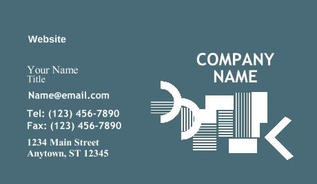 General Artist Business Cards