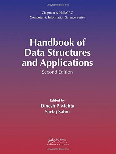 Epub Free Handbook Of Data Structures And Applications Chapman Hallcrc Computer And Information Science Series Pdf Data Structures Pdf Download Free Download