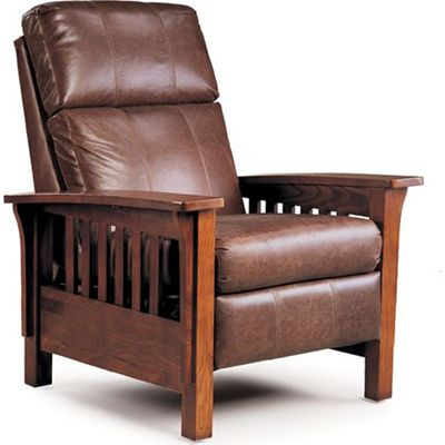 Lane 2769 Mission High Leg Recliner Available At Hickory Park Furniture Galleries Leather Recliner Chair Leather Recliner Mission Chair