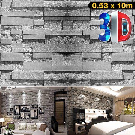 Home Improvement 3d Brick Wallpaper Brick Wallpaper Brick Texture