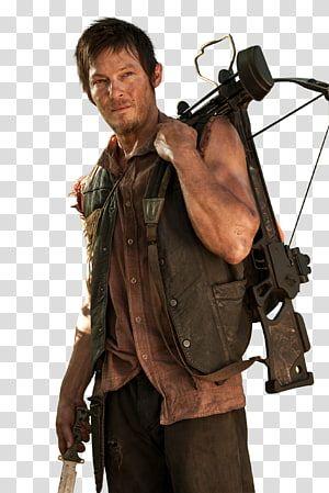 Norman Reedus The Walking Dead Daryl Dixon Rick Grimes Michonne Leonardo Dicaprio Transparent Background Png Clipart Transparent Background Clip Art Png