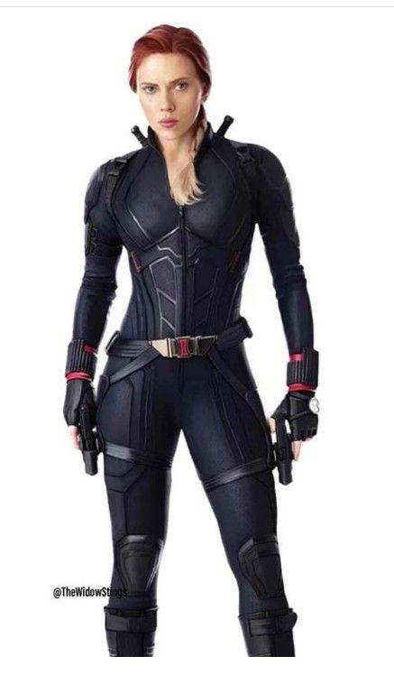 Avengers Endgame Captain America 3 Black Widow Cosplay Costume Full Suit