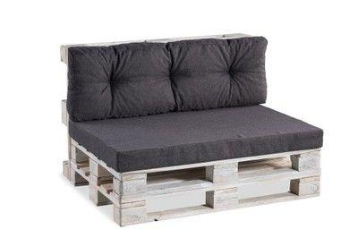 Poduszki Na Palety 120 80 Komplet Ciemny Szary Furniture Home Home Decor