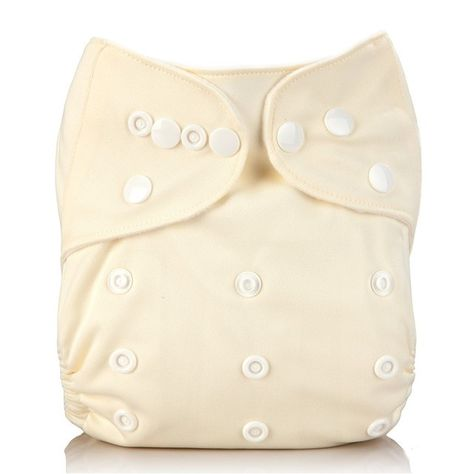 Reusable Washable Newborn Baby Insert Soft Nappy Diaper Cover Pocket 5 Colors