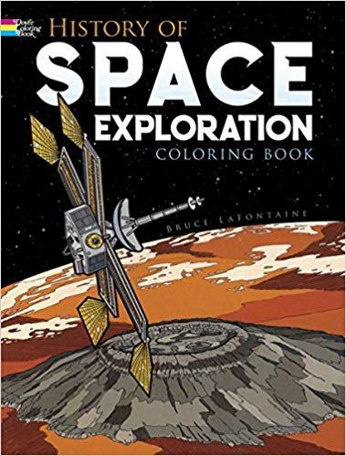 History of Space Exploration Coloring Book (Dover History