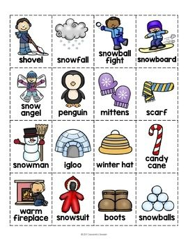 Free Winter Activities Fun No Prep Winter Worksheets Winter