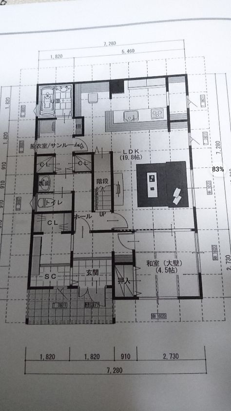 感動間取り 1階 かなり理想的 32坪 間取り 間取り 30坪 間取り