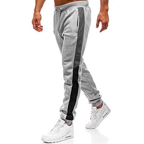 Herren Slim Fit Jogginghose Sweat Pants Trainingshose