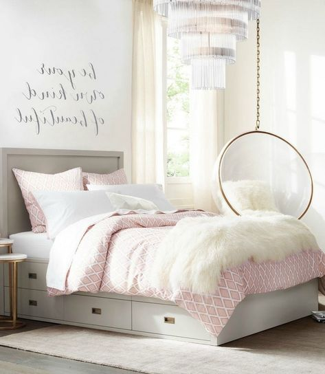 30+ Classy Teenage Bedroom Decorating Ideas | Girls ... on Classy Teenage Room Decor  id=19284