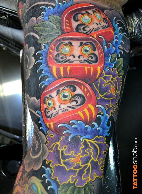 Oriental Tattoo by Troy Slack