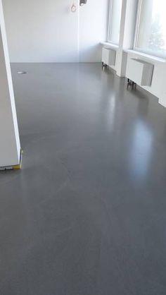 Moderne Hausentwürfe fugenlose spachtelböden betonboden loftboden mineralisch