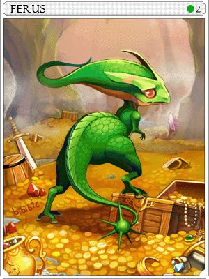Green Ferus Card Ragnarok Online Con Imagenes Criatura
