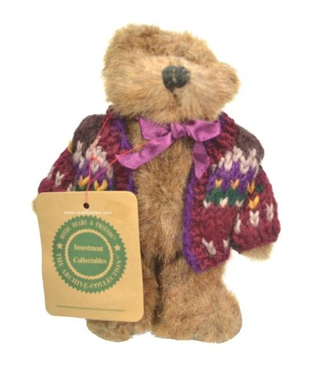 Eden Boyds Bear 6 Inches Tall (stand not included)