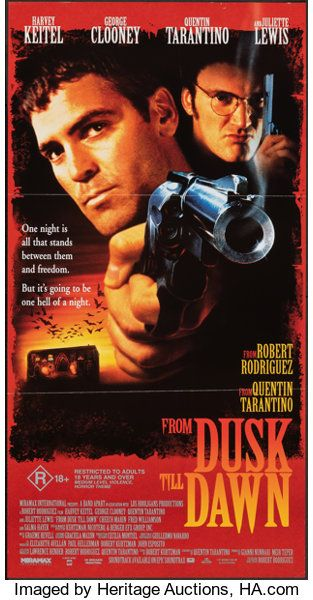 From Dusk Till Dawn Dimension 1996 Folded Very Fine Lotid 23011 Heritage Auctions Dusk Till Dawn Dawn Movie Movie Posters