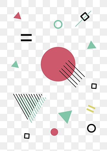 Abstract Modern Multi Color Geometric With Rounded Lines And Dots Melting Diagonal Decorative Objects In Hipster Style Colorful Vintage Shapes Png And Vector Triangle Vector Color Vector Vector Shapes