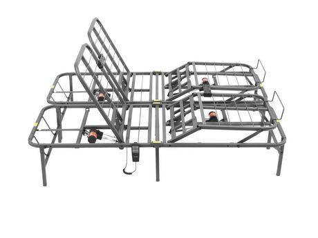 Pragmabed Pragmatic Head Foot Bed Frame Queen Adjustable Bed