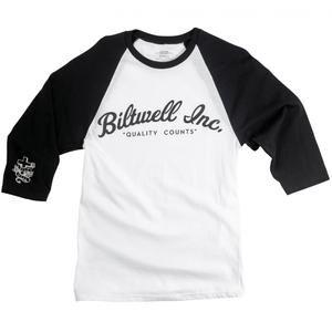 Black Biltwell Gringo Racer Long Sleeve Cotton Casual T-Shirt
