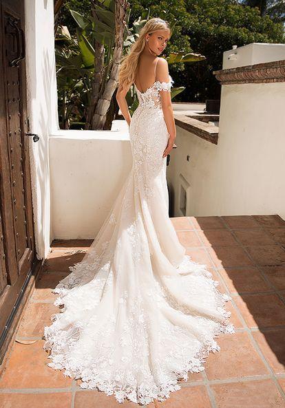 Moonlight Collection In 2021 Pnina Tornai Wedding Dress Moonlight Wedding Dress Lace Mermaid Wedding Dress