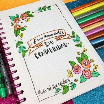 Algunos Modelos De Titulos Para Cuadernos 2019 Portada De