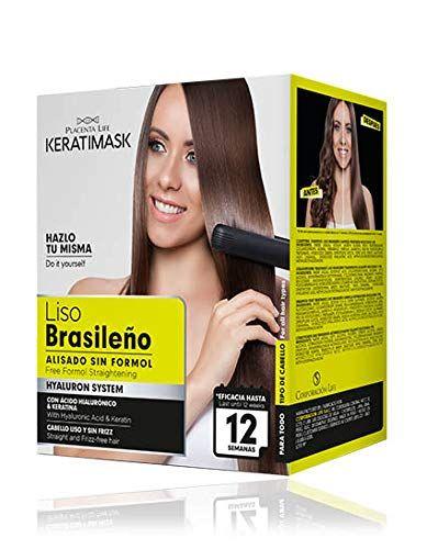 Be Natural Kit Alisado Brasile O Keratimask Sin Formol 1 Unidad