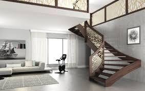 نتيجة بحث الصور عن اشكال الدرج الخارجي للمنزل Luxury House Interior Design Staircase Design Open Staircase