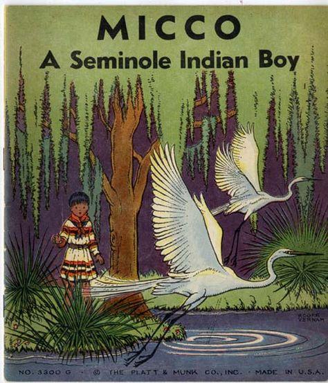 Micco - A Seminole Indian Boy -- online storybook