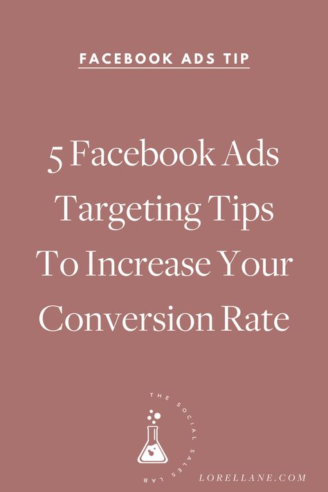 The 5Ps of Facebook Ads Targeting that guarantee to bring in sales and customers to your small biz