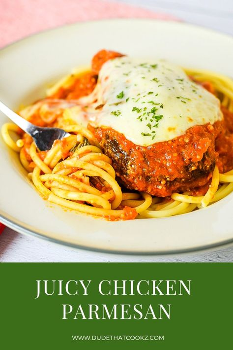 Chicken Parmesan Recipe Food Blogger Group Board Pinterest
