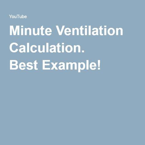 Ventilator Management Part 3 Ve Vte Ventilator Management Respiratory Therapy Respiratory Therapist