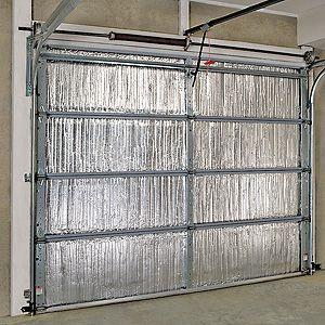 How To Insulate A Garage Door Garage Door Insulation Door Insulation Garage Door Insulation Kit