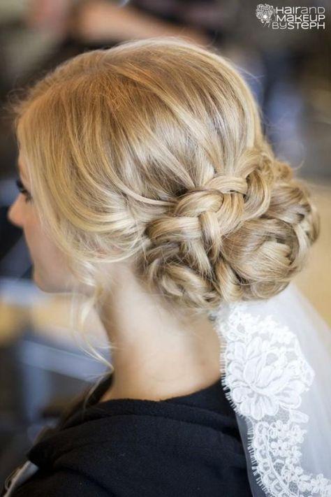 Postado Braut  Frisur   Penteado wedding   casamento cabelo   noiva Braut