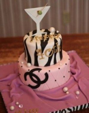 Birthday Cake Ideas For 35 Year Old Woman With Images 40th