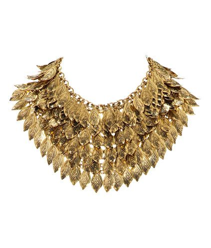 Ladies | H GB necklace feather