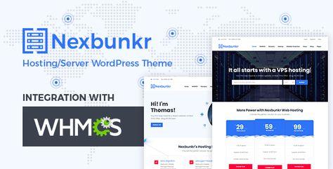 Nexbunker — Hosting/Server WordPress Theme + WHMCS | Stylelib