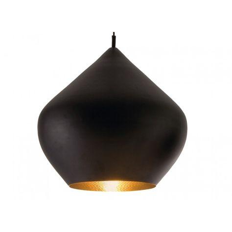 beat stout black pendant by tom dixon