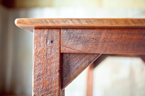 8f1708ca735f reclaimed wood pre-civil-war farmtable rustic sons of sawdust woodworking