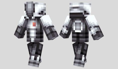Zer0 Skin para Minecraft