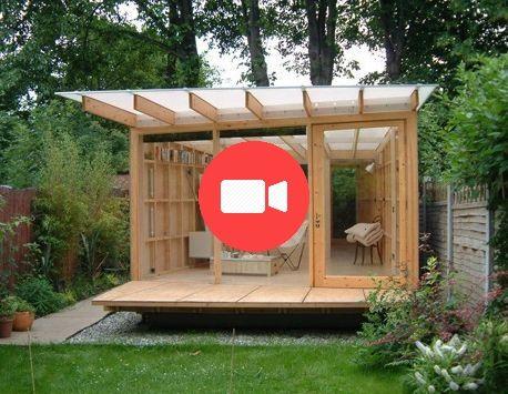 Construisez Vous Meme La Maison De Jardin Kit Ou Maison Prefabriquee Pro Contras Jardin Maison Maison Prefabriquee Prefabrique