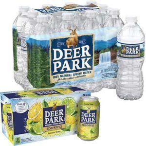 Free Pack Of Deer Park Sparkling Water Freebies Lovers Poland Spring Bottle Natural Spring Water Deer Park