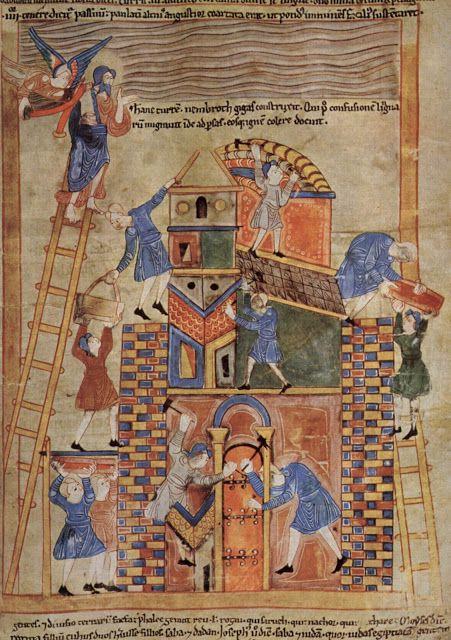 Pin De Inaki Idu En Canteria Medieval Torre De Babel Arte