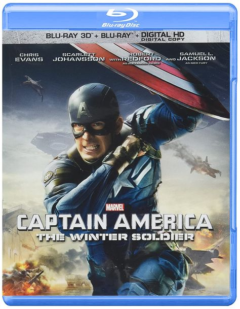 Captain America: The Winter Soldier (Blu-ray 3D + BR) Pre-Owned