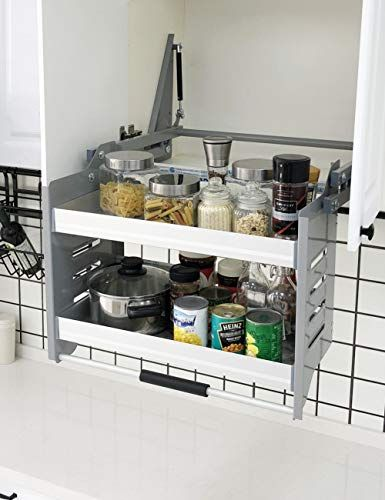 Cabinet Pull Down Shelf Kitchen Wall Cabinet Storage Organizer 30inch Cabinet Pingu In 2020 With Images Pull Out Kitchen Cabinet Buy Cabinets Kitchen Cabinet Organization