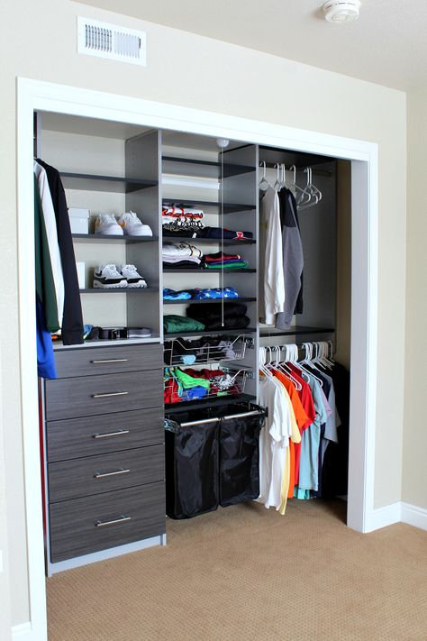 The Perfect Teen Boy Closet Makeover The Tattered Pew Teen Boys Room Decor, Teen Boy Rooms, Boys Bedroom Decor, Room Ideas Bedroom, Teen Game Rooms, Boys Bedroom Furniture, Big Boy Bedrooms, Teen Decor, Teenage Room