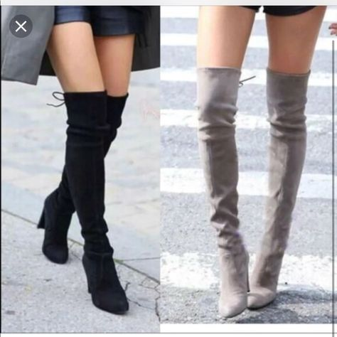 ki Forever Link Women/'s Over The Knee Thigh High Flat Boot