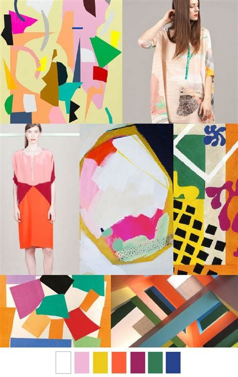 Decoupage Collage Ss2016 Trends üçgengezegenler Color
