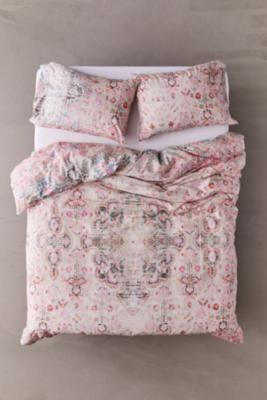 Vintage Inspired Enchanted Duvet Cover Set Duvet Cover Sets Pink Duvet Cover Duvet Covers