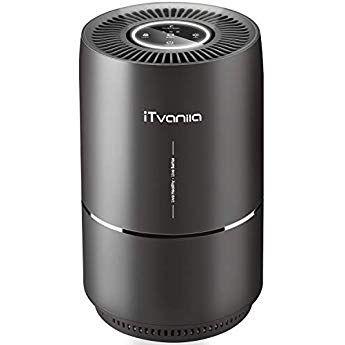 Itvanila Air Purifier 3 In 1 Air Cleaner Home Air Purifier With True Hepa Filter Quiet Air Purifier For Home Air Purifier Room Air Purifier Hepa Air Purifier